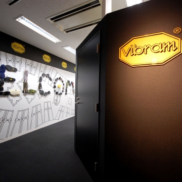 WELCOME OFFICE―アウトソールを全面にデザインしたオフィス―
